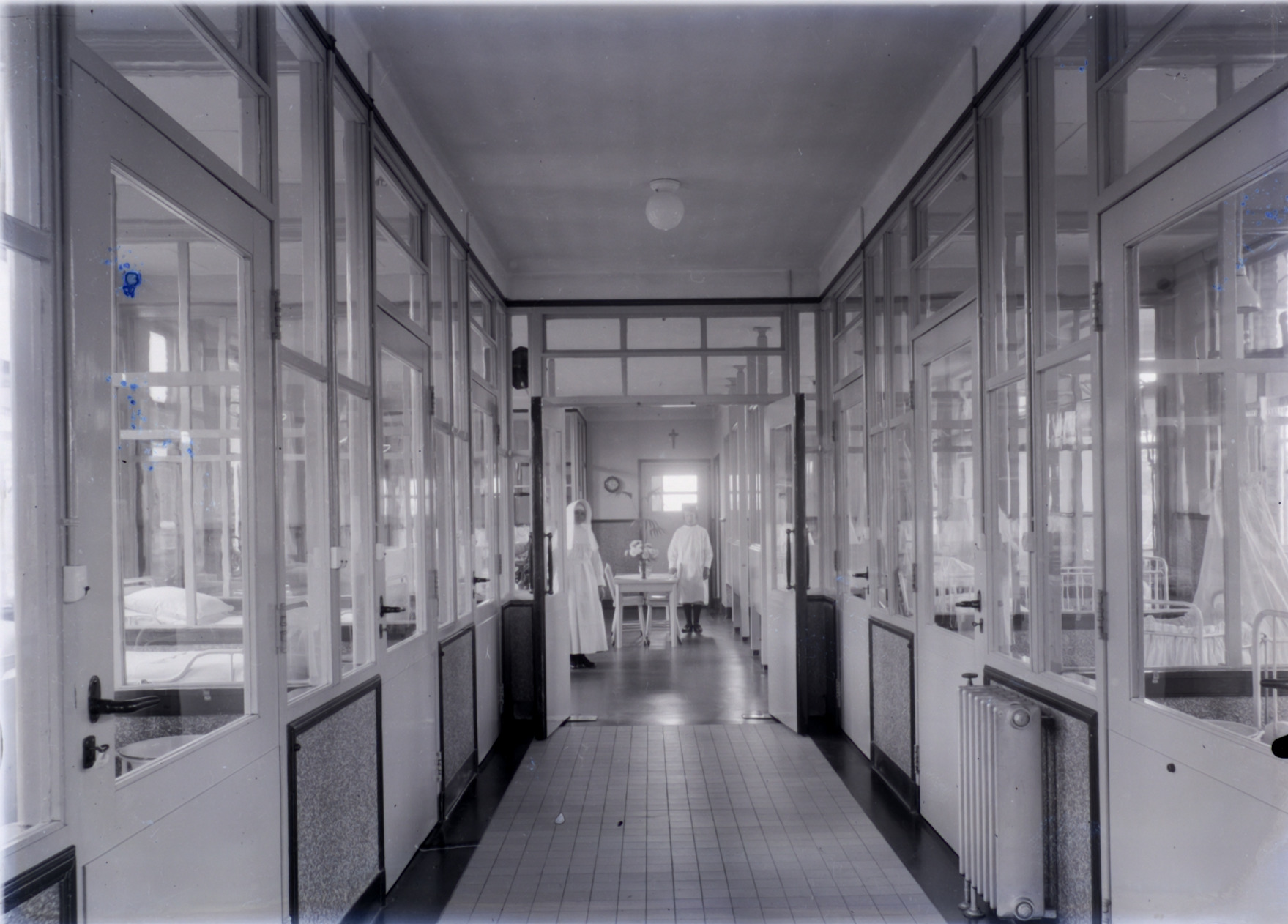 zuigelingenafdeling ABG Algemeen Burger Gasthuis ziekenhuis