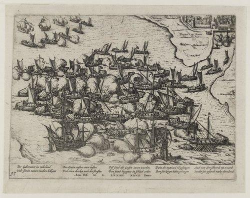 slag om Reimerswaal zeeslag bergen op zoom kunstwerk bergse plaat