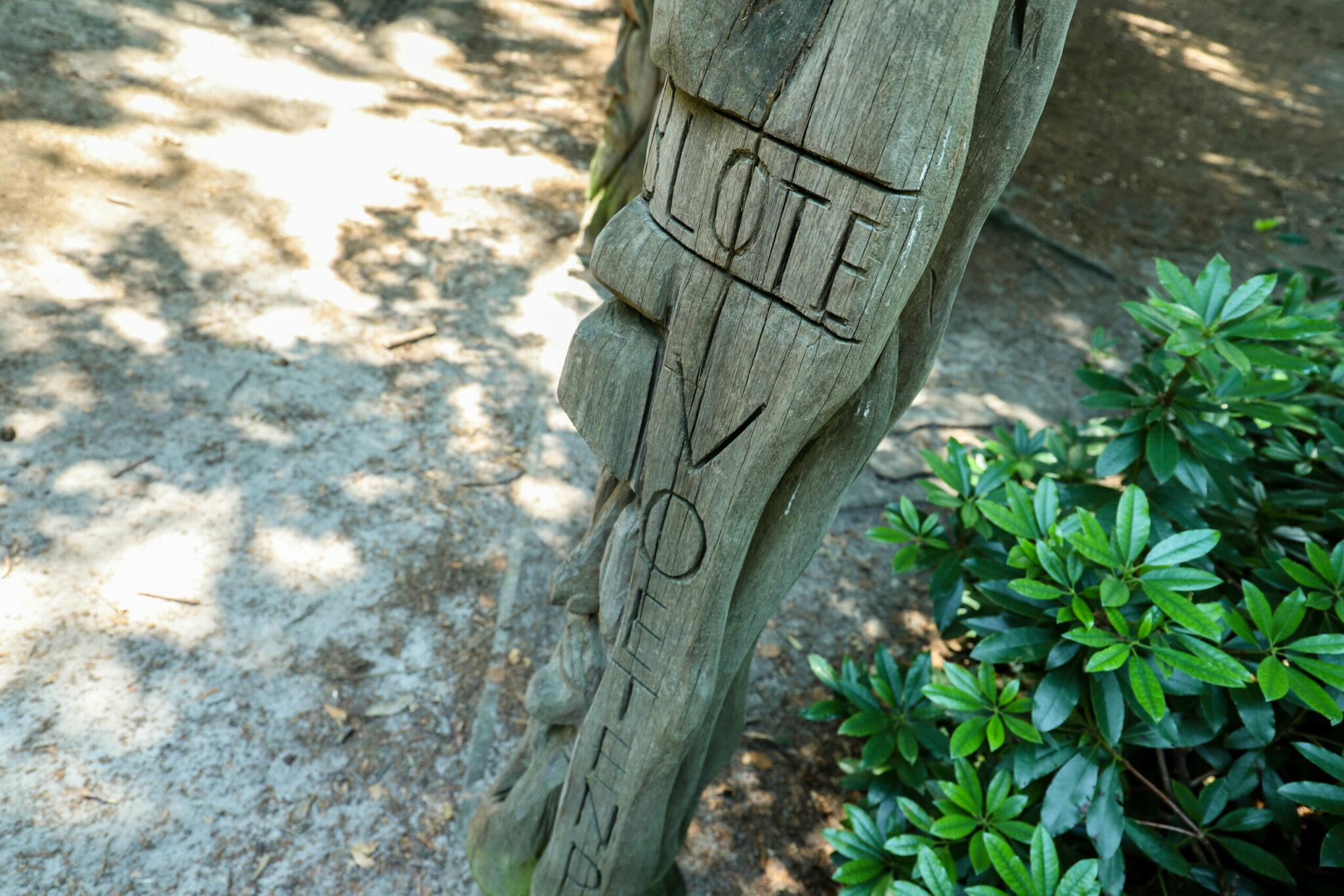 Blote voetenpad bos bossen landgoed lievensberg