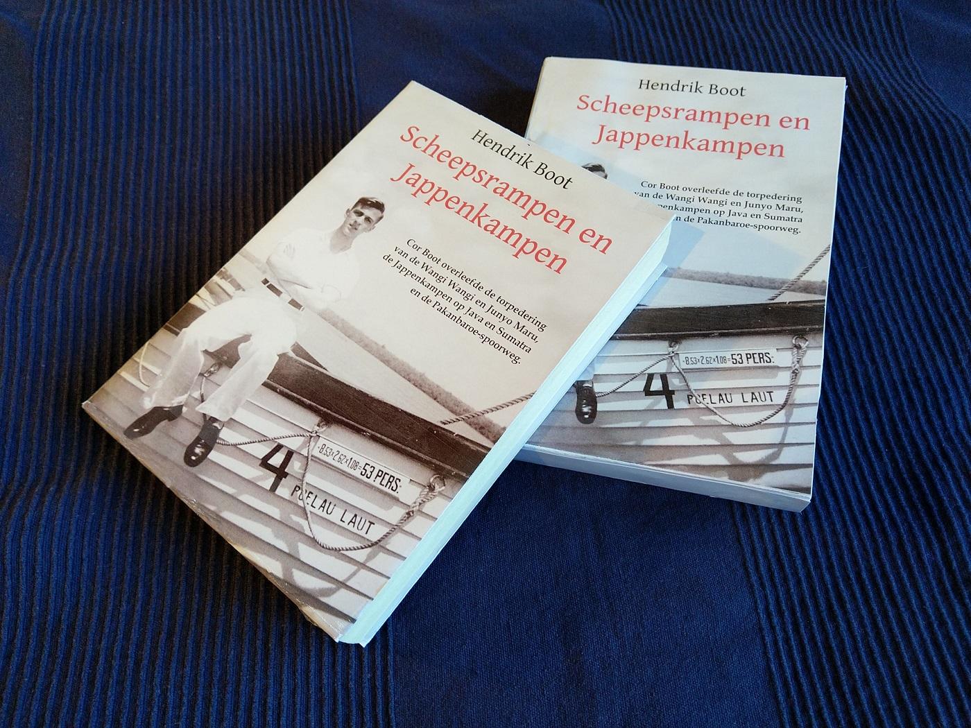 scheepsrampen en jappenkampen boek hendrik boot cor boot