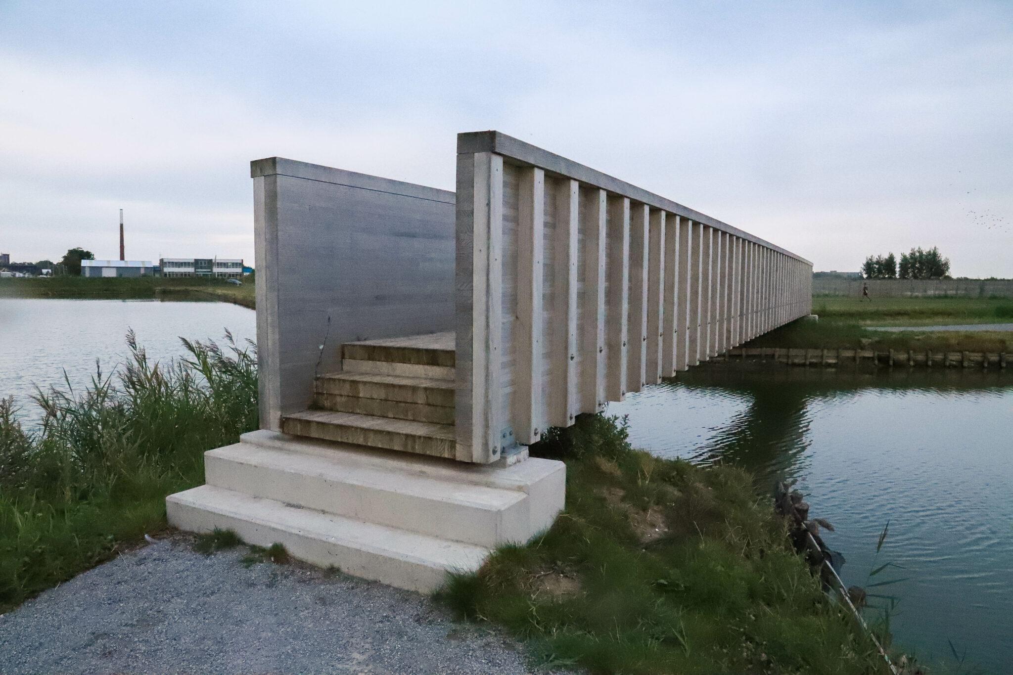 brug waterschans fort vestingswerken vesting kop van het hoofd