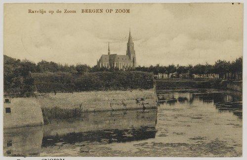 St. Josephkerk ravelijn op den zoom