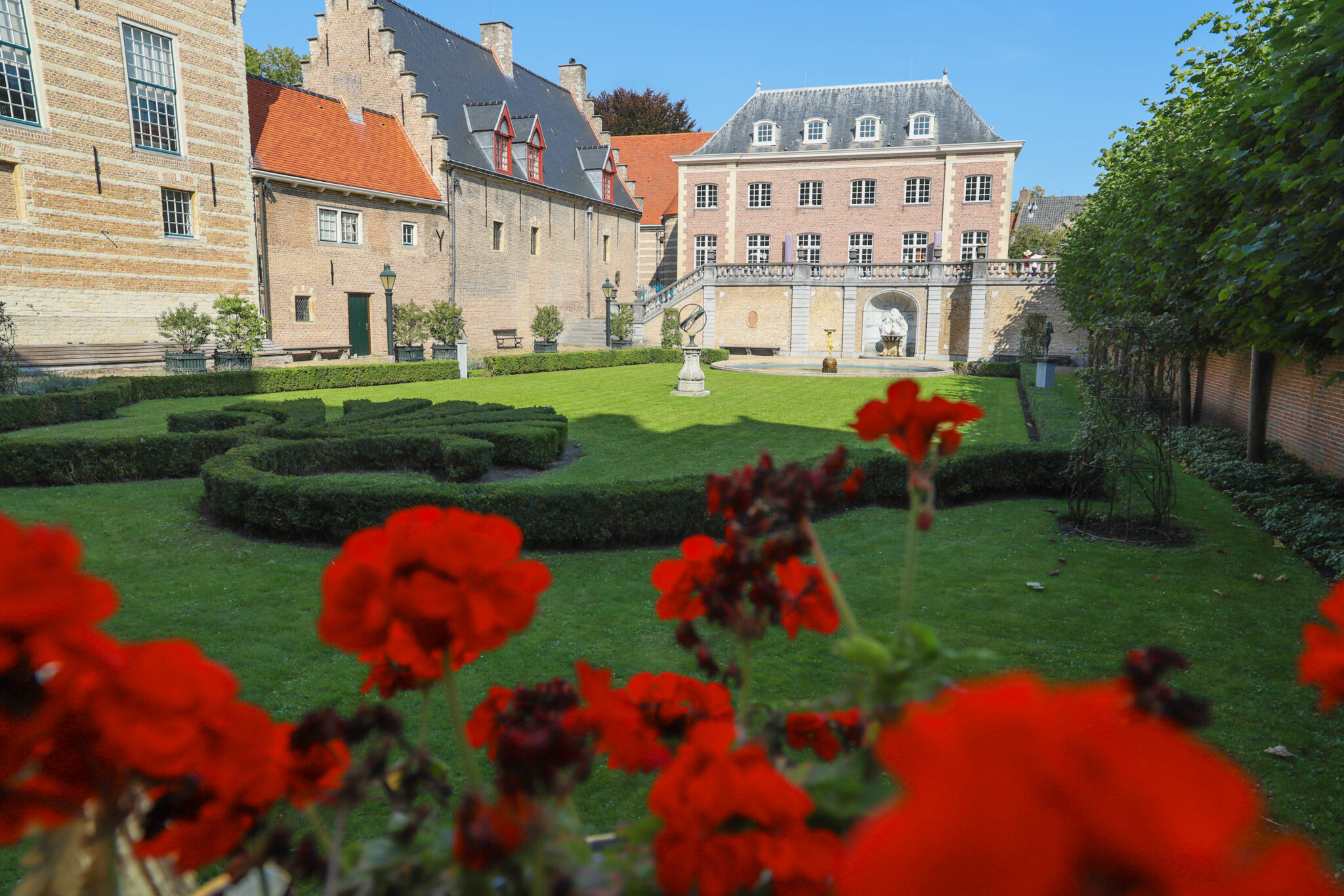 Markiezenhof franse tuin