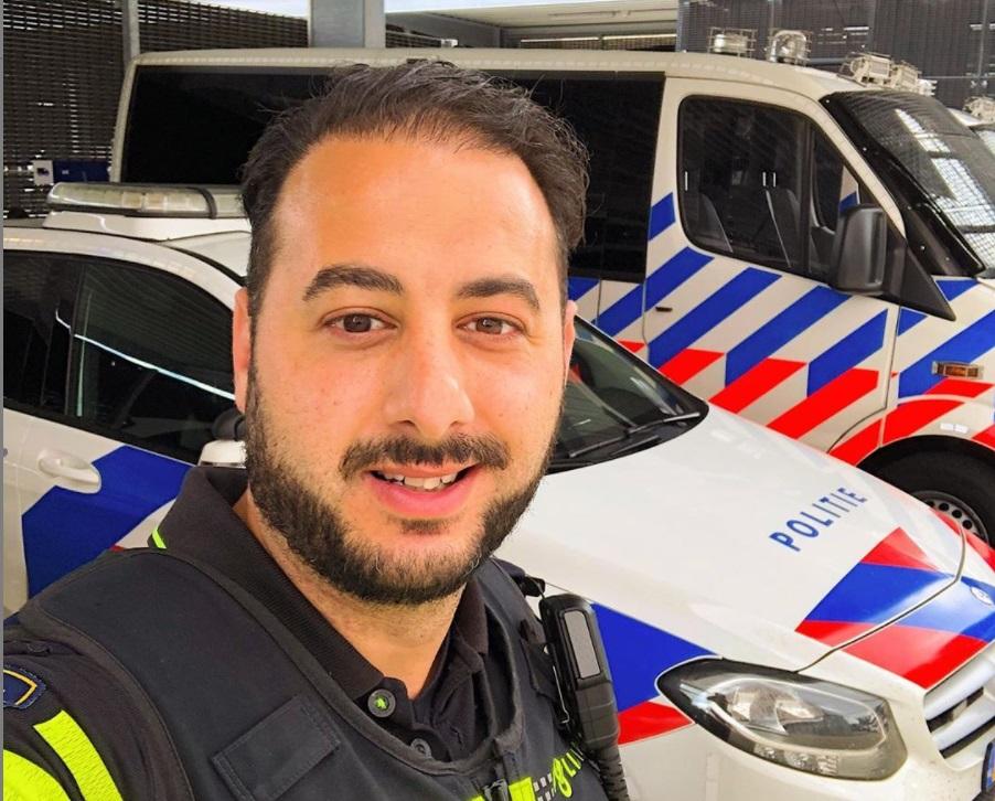 wijkagent politie bergen op zoom agent agenten Caner Büyükördek instagram wijkagenten bergen op zoom