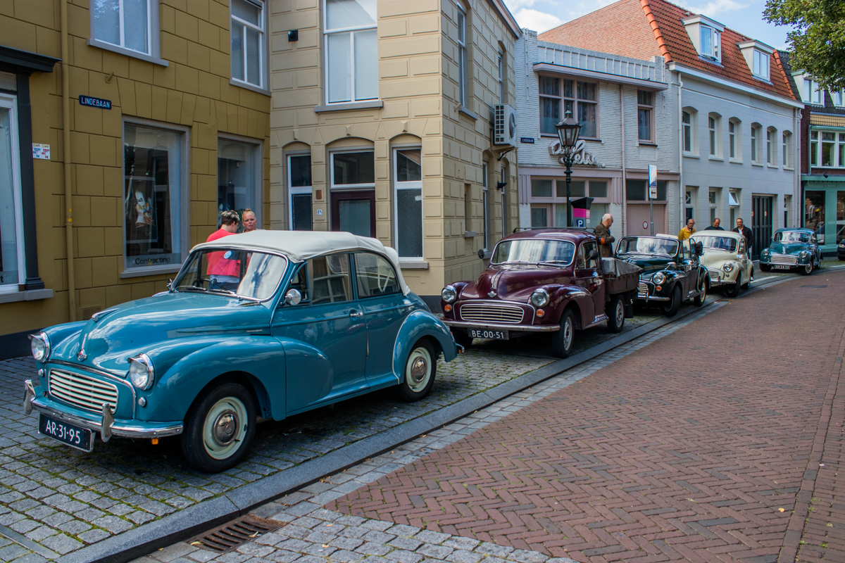 parkeren bergen op zoom feestdagen toertocht Brabantse wal oldtimers
