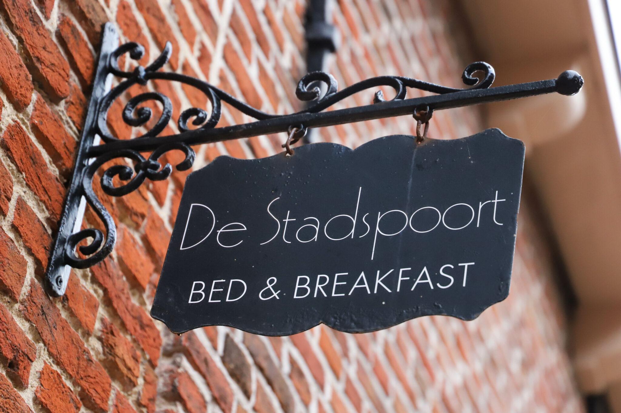 gevangenpoortstraat de stadspoort bed & breakfast b&B bed and breakfast bergen op zoom