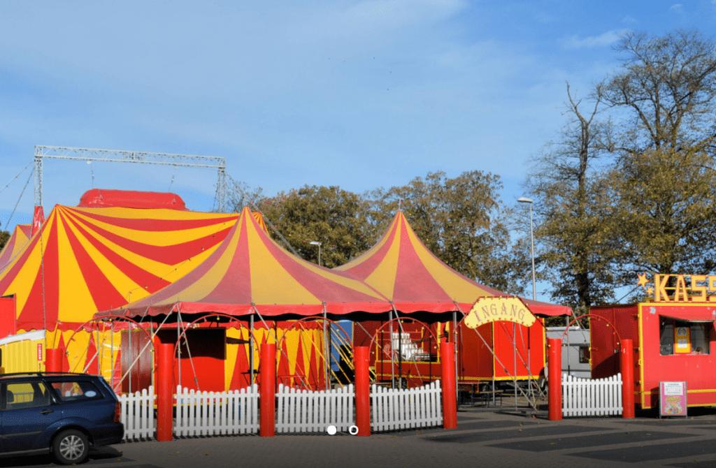 Circus Barani bergen op zoom stadspark park kijk in de pot kiek in de pot
