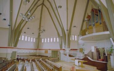 Gereformeerde Ontmoetingskerk kerk op bolwerk protestant protestantse kerk kerken bergen op zoom