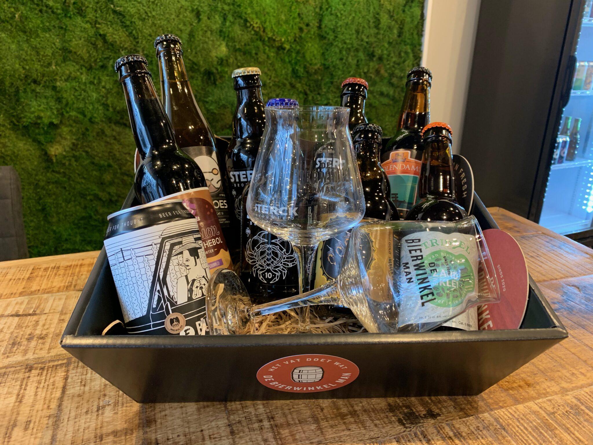 de bierwinkel man bergen op zoom winnen winactie speciaalbier bier bieren drank alcohol