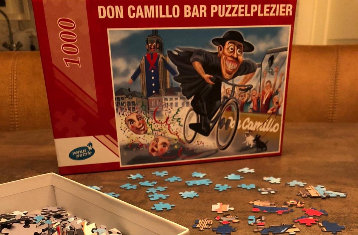 puzzel vastenavendpuzzel Foto: Don Camillo Bar cafe kroeg café grot markt peperbus corona