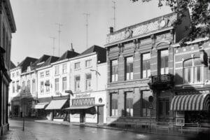 bergen op zoom 1960 zuivelstraat banketbakkerij bakker gouvernement