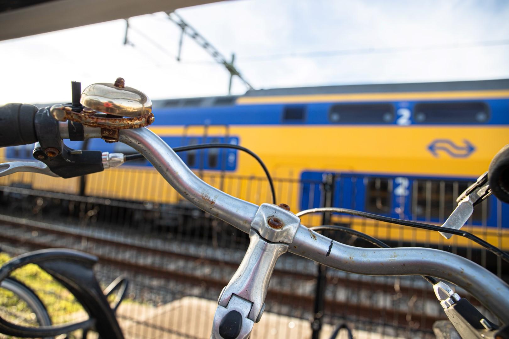 Station stationsstraat fiets fietsen gemeente verwijder verwijdering trein