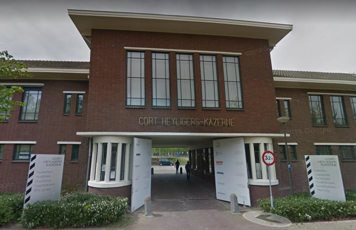 mc de poort kazerne Gijsbertus Martinus Cort Heyligers