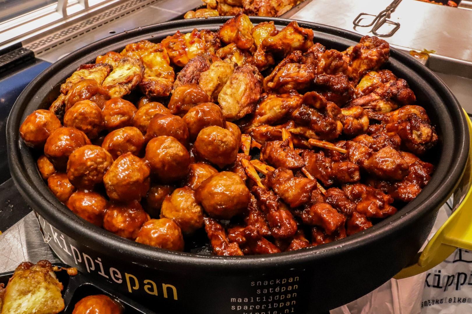 kippie maaltijden grill kip kippiepan