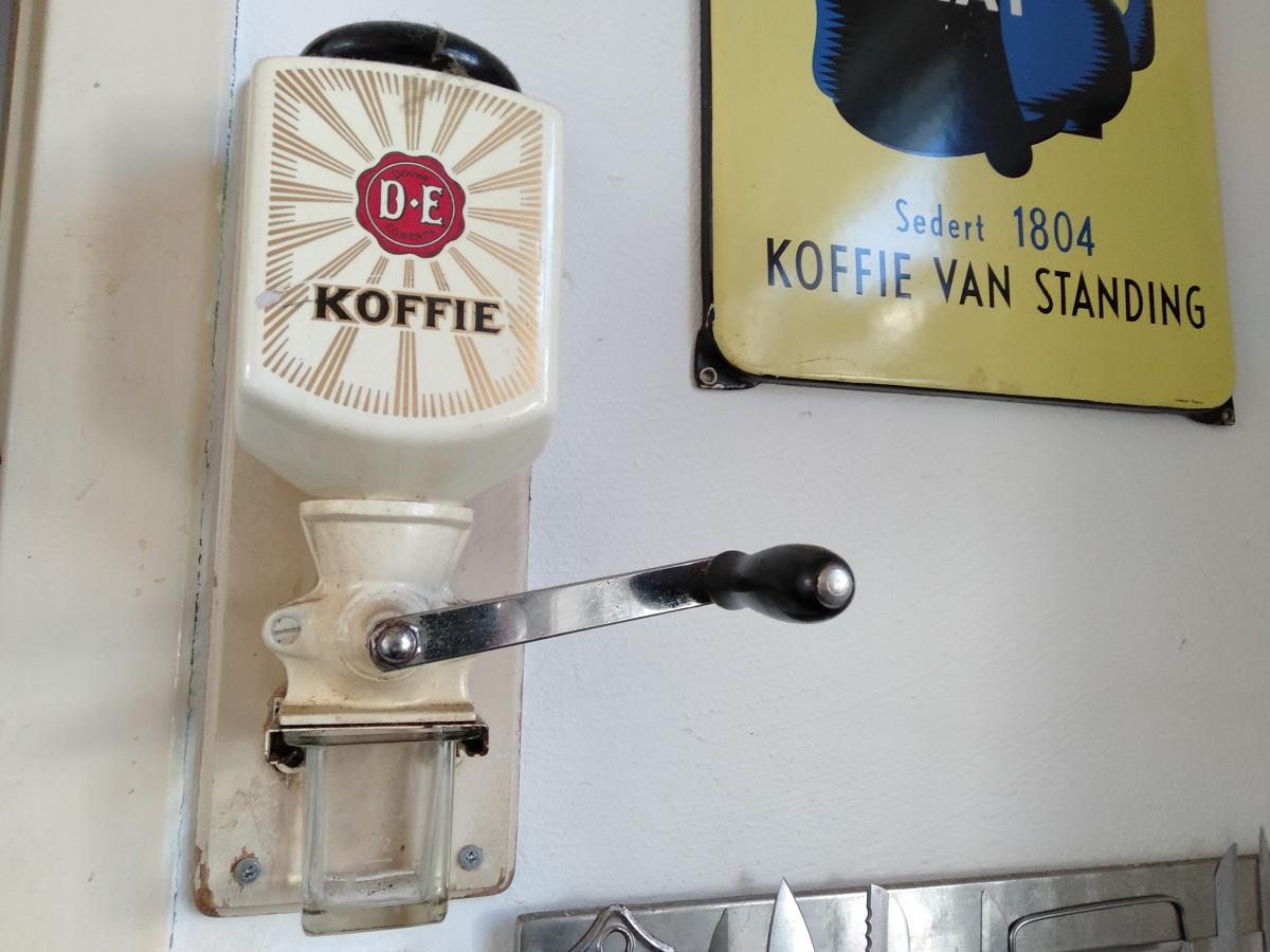 koffiemolen vroeger bergen op zoom