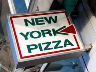 New york Pizza brand restaurant