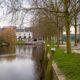 Corona-update Bergen op Zoom watermolenpad oude vissershaven water bomen natuur