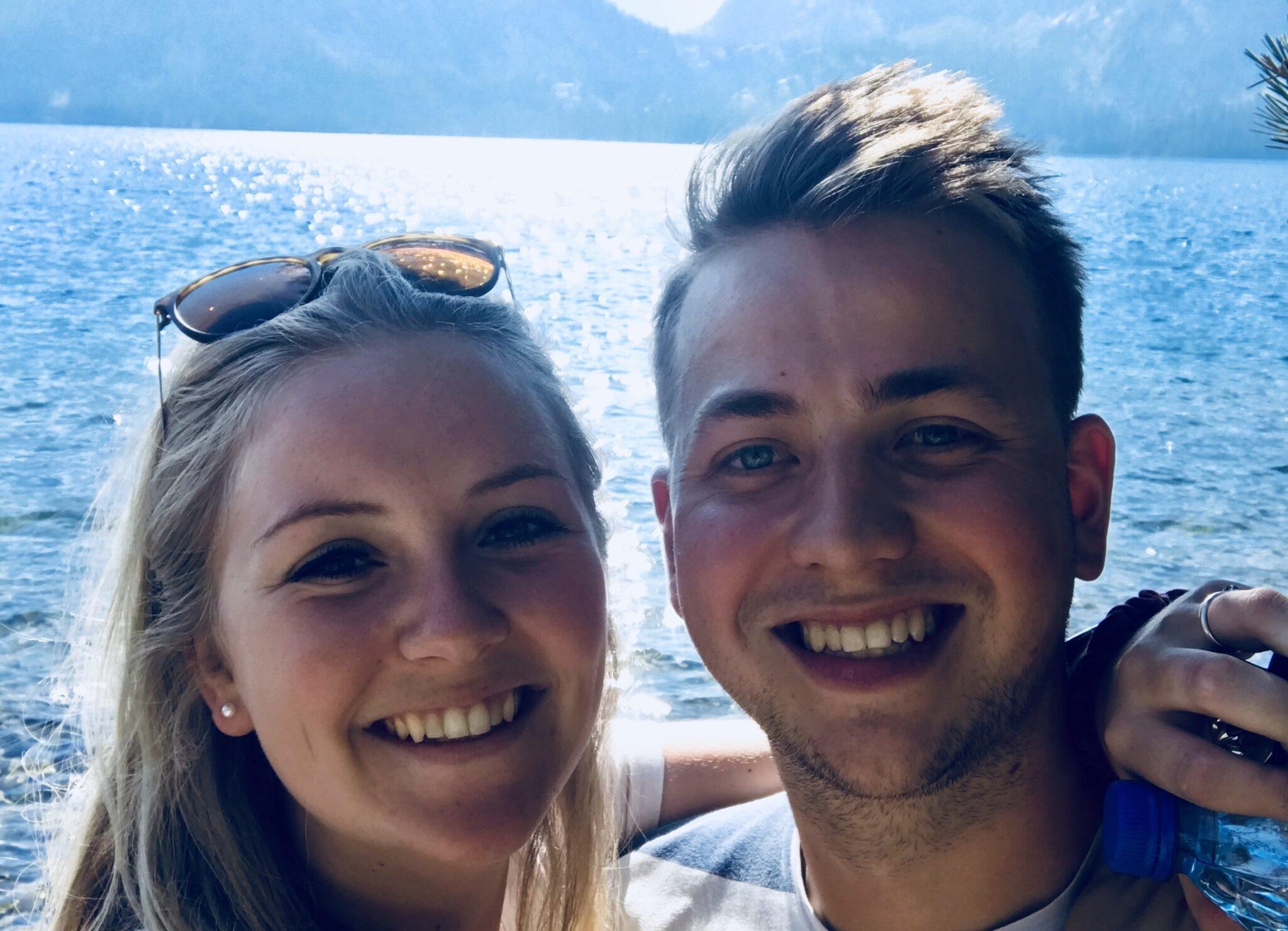 Valerie Deleij (23) en Jean-Luc Stook (25) bergse stadswandeling