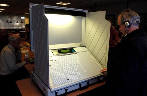 Verkiezingen stemcomputer stemmen 2006