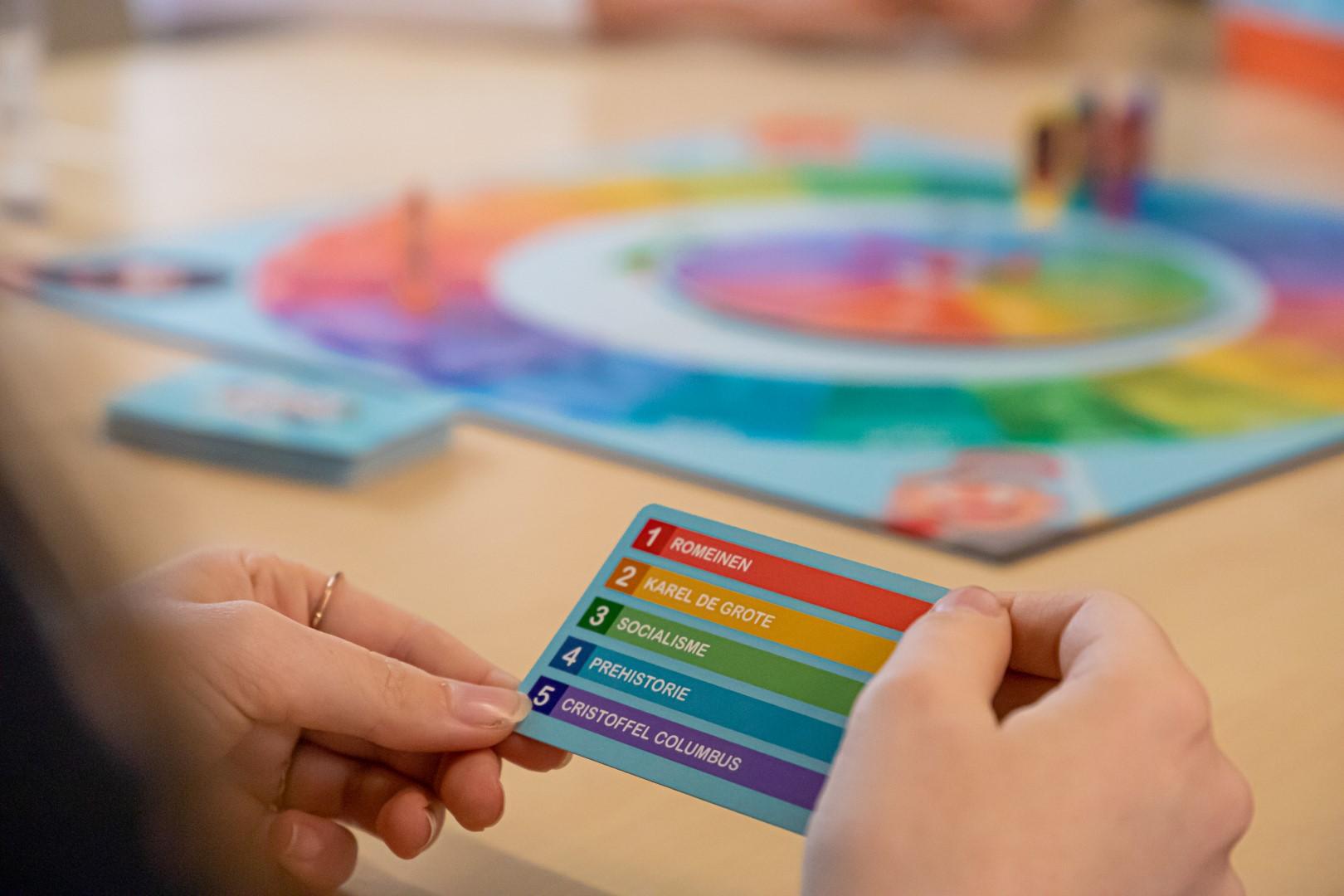bordspel kwartet spel geschiedenis educatief 't rijks The Past filosofen kwartet tommy van der veer