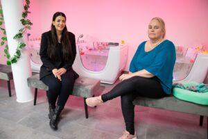 Emrah Celik Dreams Baby Spa & Massage, de eerste baby spa in Bergen op Zoom. dreams baby spa & massage water dreamsbabyspa wellness