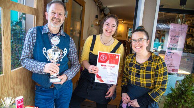 Beste ondernemer Bergen op Zoom 2021 inspire coffee company winnaar indebuurt verkiezing ondernemer van het jaar 2021