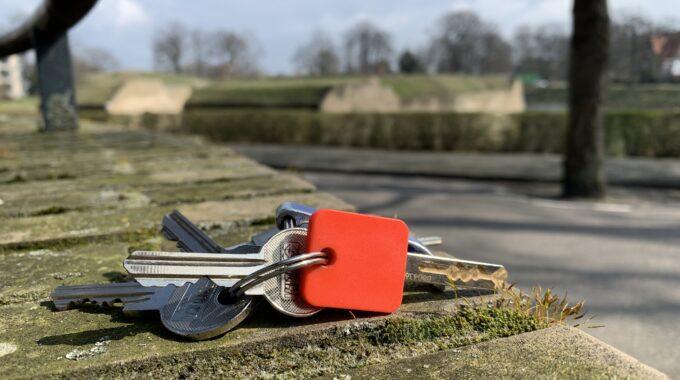 sleutel sleutels sleutelbos verloren gevonden bergen op zoom