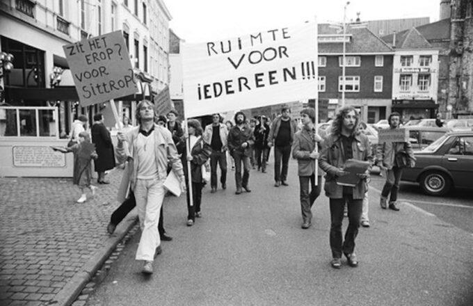 protestactie protest demonstratie