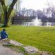 Anton van Duinkerkenpark park water meer meertje groen natuur anton van duinkerken brug bloemen lente bloem goed weer
