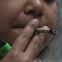 joint roken blowen in bergen op zoom