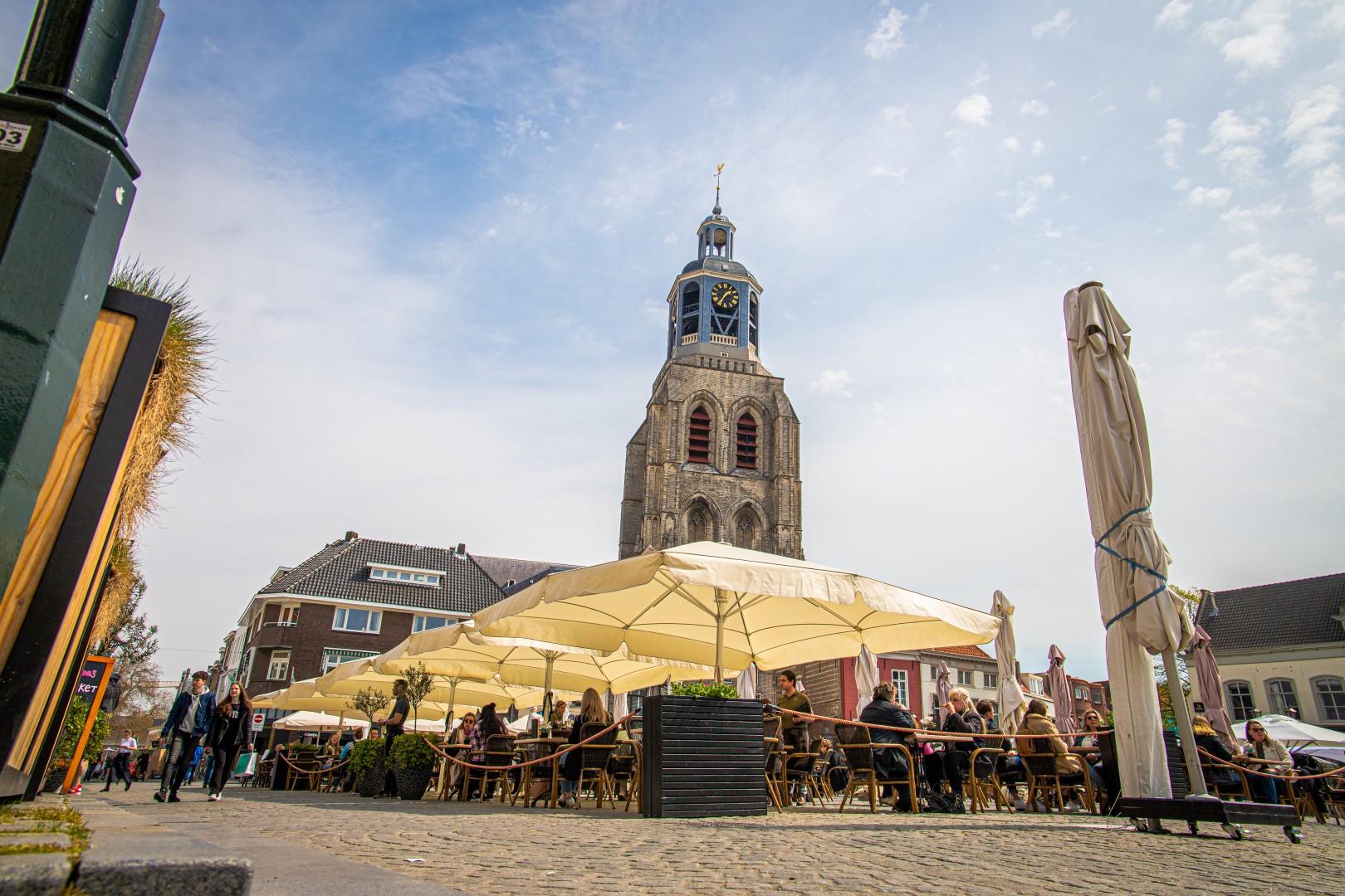 grote markt terras terrassen peperbus horeca binnenstad