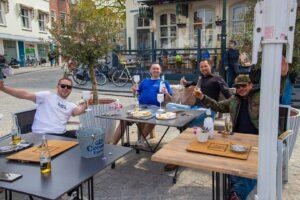 grote markt terras terrassen horeca bier drank de teerkamer