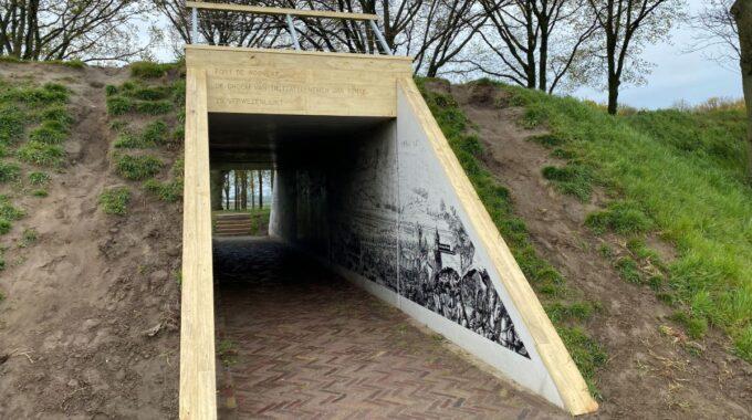 Zeefdrukgravure Fort de Roovere