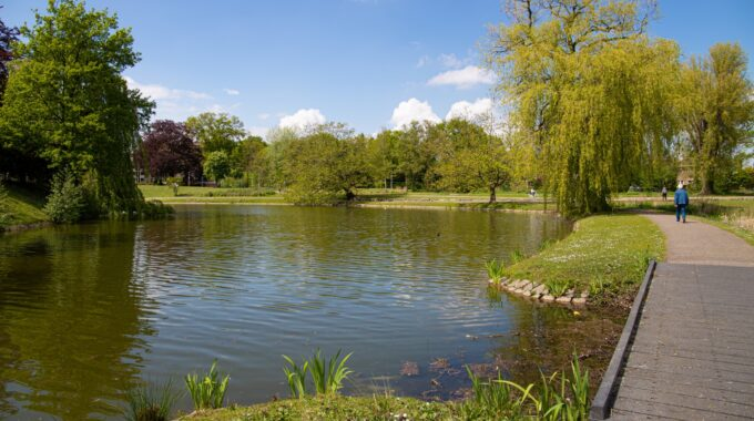 Anton van Duinkerkenpark park water meer meertje groen natuur anton van duinkerken