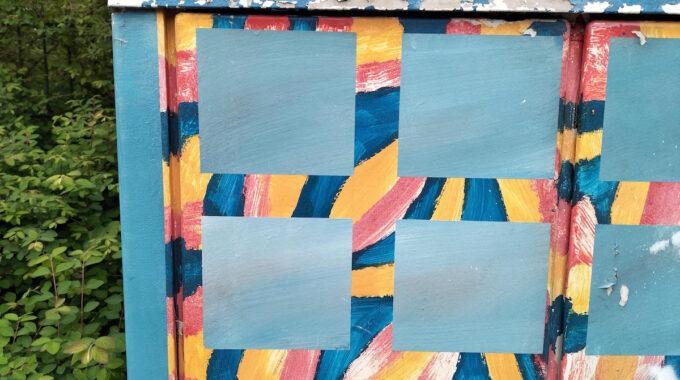 fort-zeekant kunstwerken trafokastjes transformatorhuisjes trafokasten schilderen gerard huisintveld