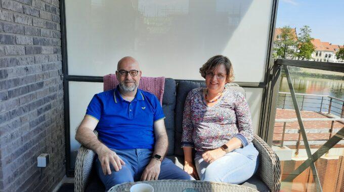 Maarten en Saskia