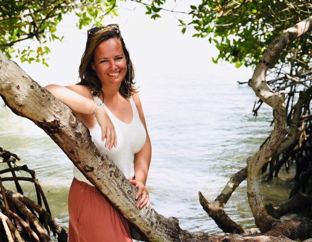 Ilona Helmons in Aruba