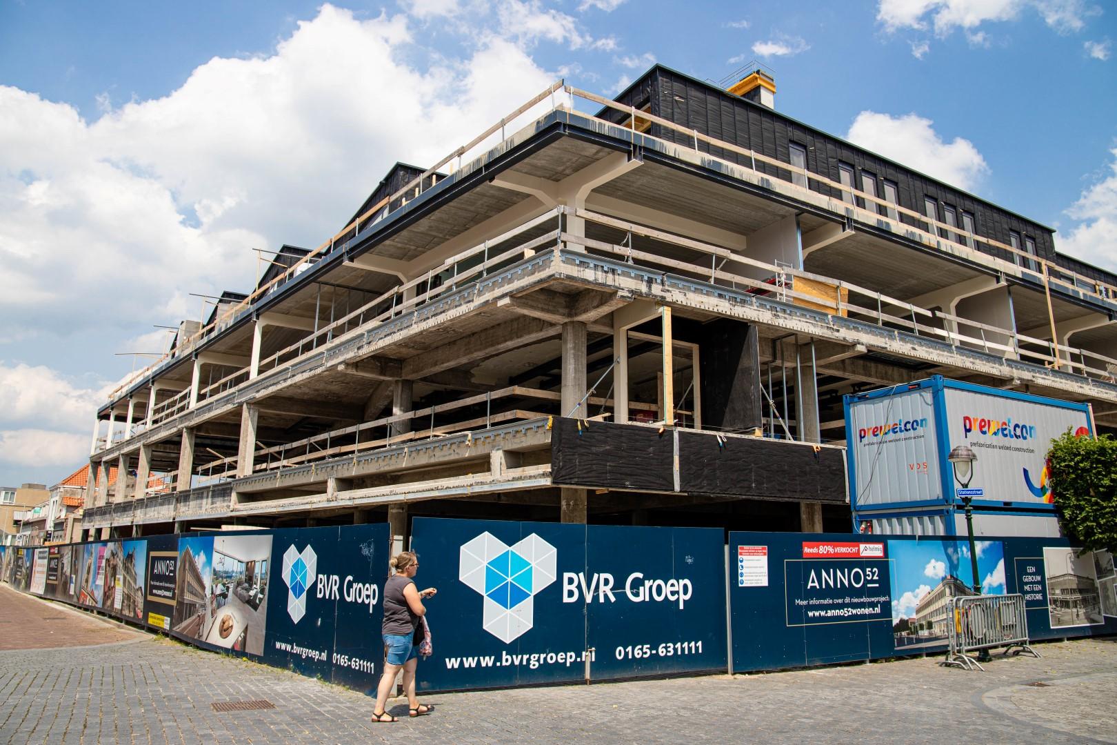 oude v en d v&d ann0 52 nieuwbouwproject huizen appartementen bouwen
