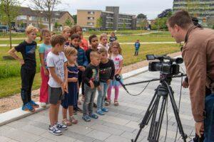 Opening park belvedere biodiversiteit bloemen natuur gras kinderen zuidwest tv