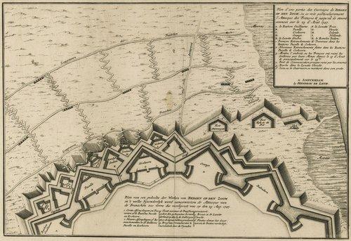 bastion belvedere bergen op zoom coehoorn verdedigingswerk