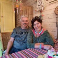 Kees Hensen en Mieke Jansen. Foto: indebuurt Bergen op Zoom