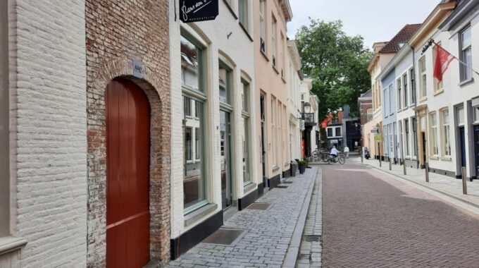 Het Raamstraatje in Bergen op Zoom