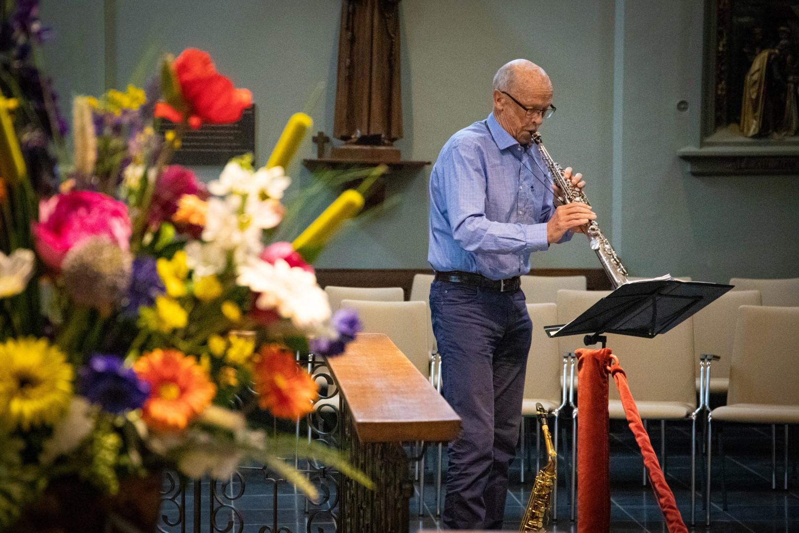 kapel het katrientje kerk open monumentendag geloof saxofoon