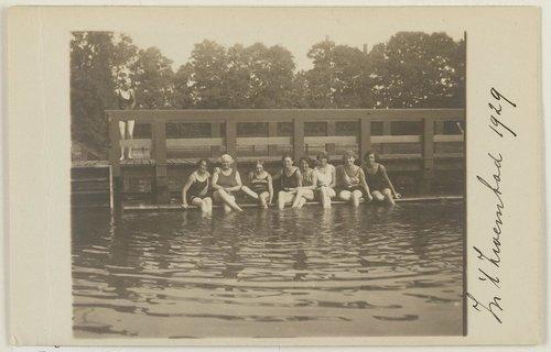 zoutwaterzwembad calandweg bergen op zoom jaren 20