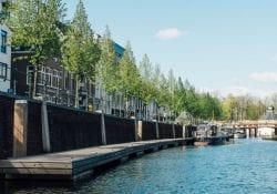 Breda vanaf het water