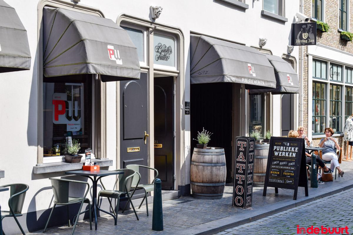 Eetcafé Publieke Werken St. Annastraat Breda