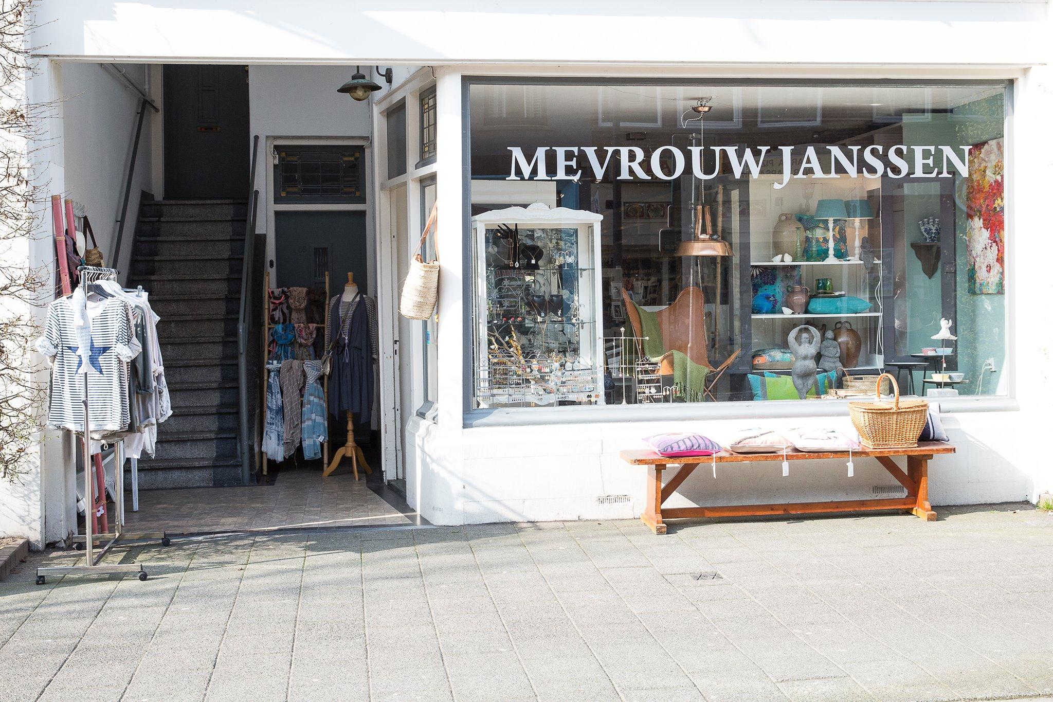conceptstore Mevrouw Janssen Breda