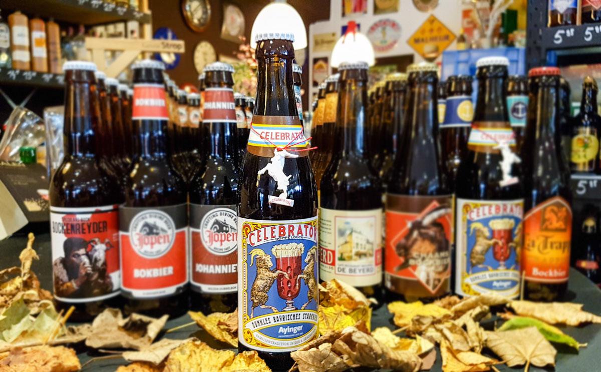 Het bierhuis tipt bockbieren