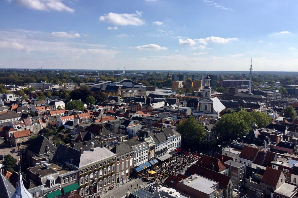 Grote Kerk beklimmen Breda