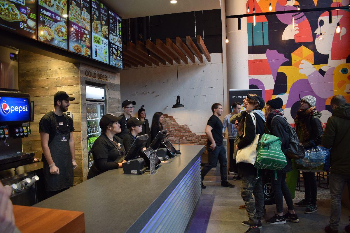 Taco Bell weer open breda